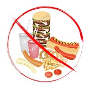 no junk food by lamnee