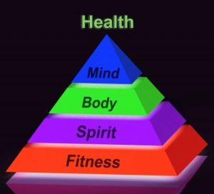 health pyramid by Stuart Miles