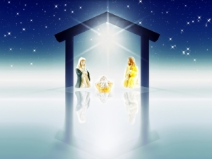 Christmas nativity by dan